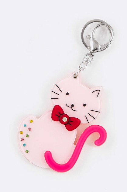 Little Kitten Mirror Key Chain - orangeshine.com