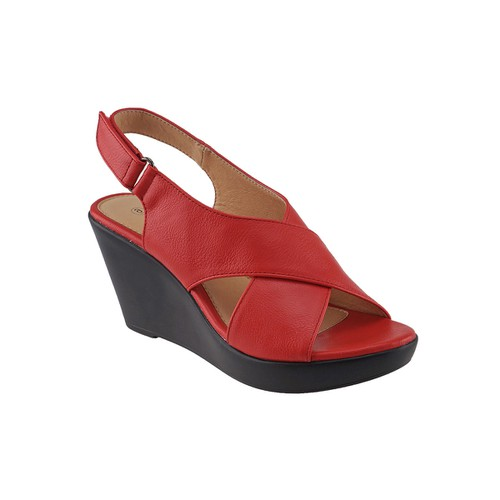 AGAPE LIGHTWEIGHT WEDGE SANDAL - orangeshine.com