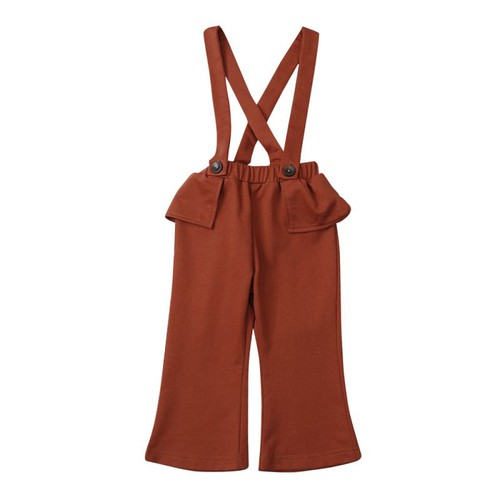 Girls Suspender Jumpsuit - orangeshine.com