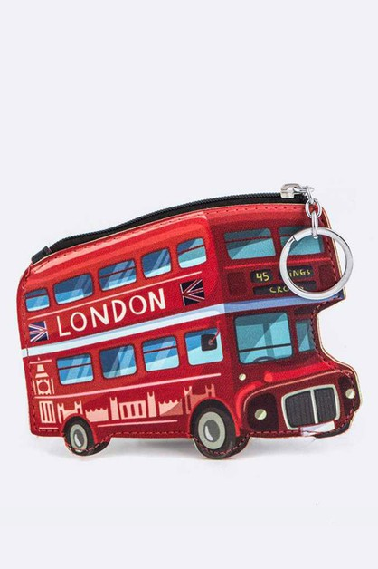 London Bus Coin Purse - orangeshine.com