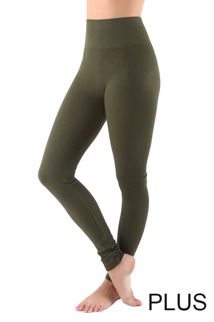High Waist Legging PLUS - orangeshine.com