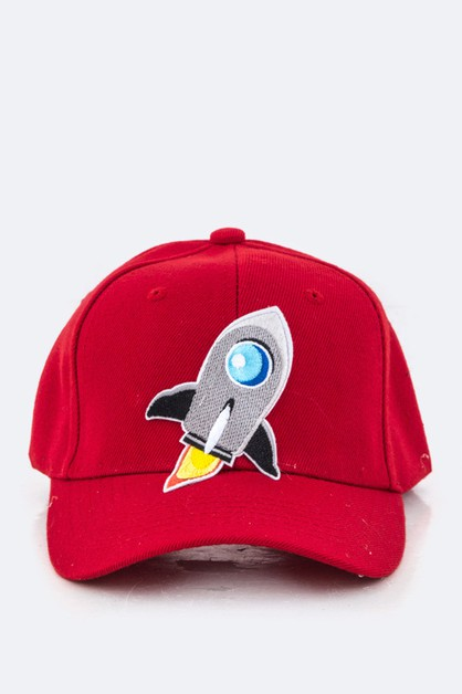 Rocket Patch Cap - orangeshine.com