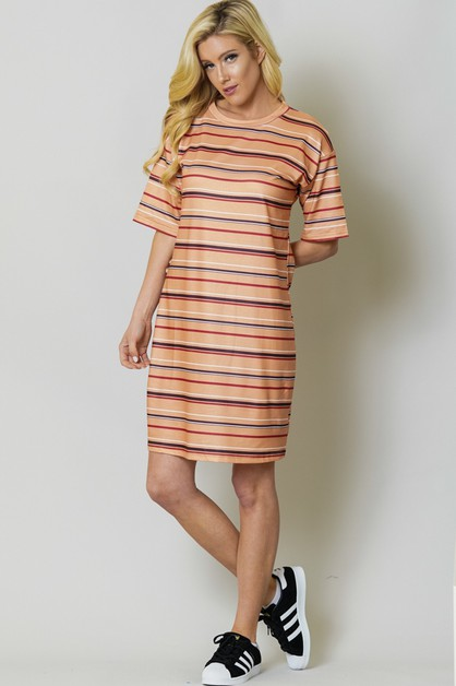 ROUND NECK SHORT SLEEVE ALL OVER  - orangeshine.com