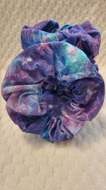 Mermaid Galaxy Scrunchie - orangeshine.com