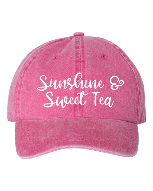 Sunshine and Sweet Tea Hat - orangeshine.com