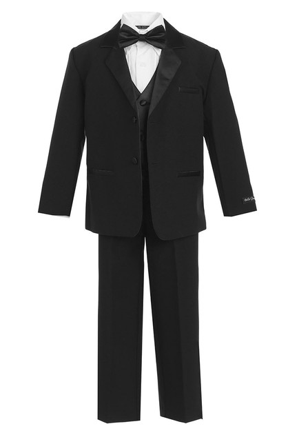 Boy Tuxedo Set 5pc - orangeshine.com