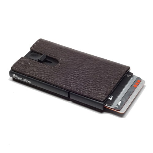 Leather Wrapped Credit Card Holder - orangeshine.com