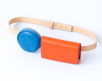Round Square Belt Bag - orangeshine.com