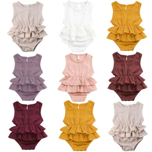Ruffled Rompers - orangeshine.com