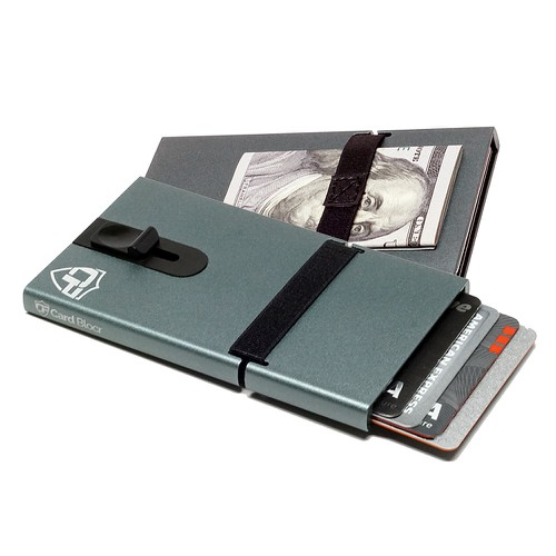 Credit Card Holder Titanium - orangeshine.com