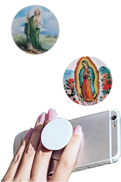 Our Lady of Guadalupe Phone Stand - orangeshine.com