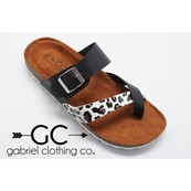 Leopard Sandals - orangeshine.com