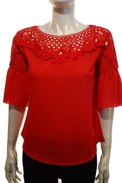 lace from neck thru shoulder bell sl - orangeshine.com