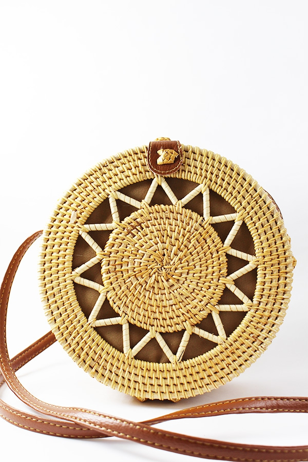 SUN STRAW SHOULDER BAG - orangeshine.com