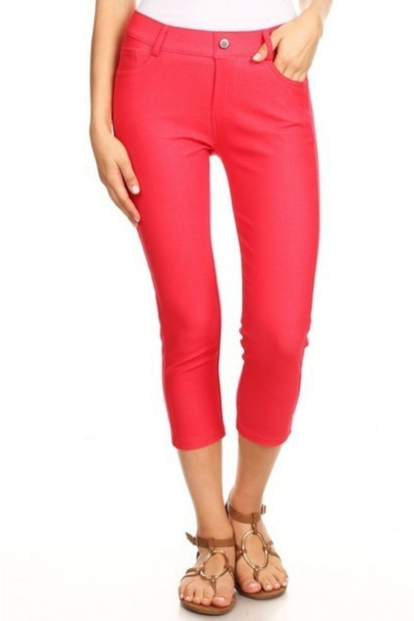 Capri jeggings - orangeshine.com