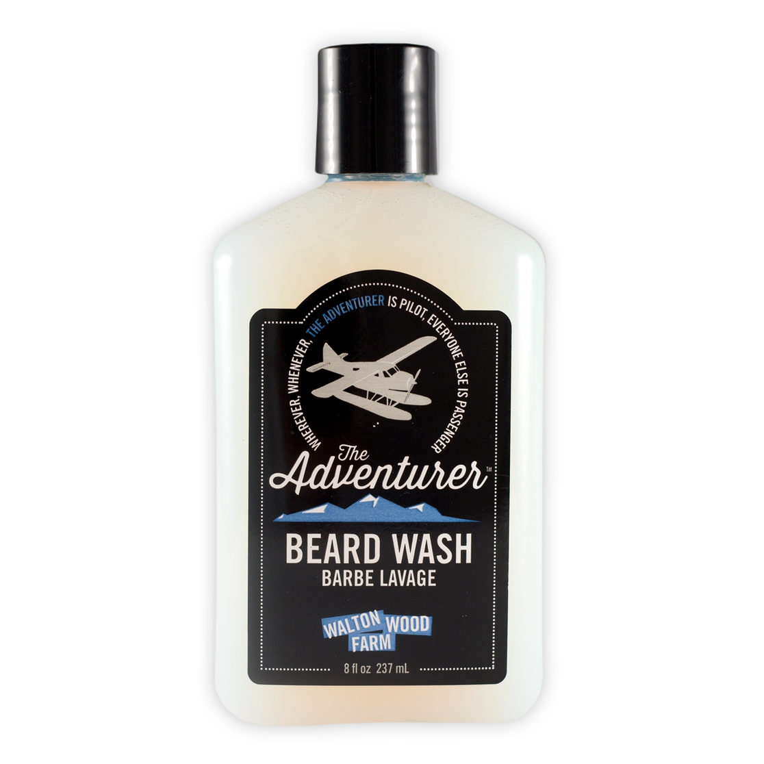 Beard Wash - The Adventurer 8 oz - orangeshine.com