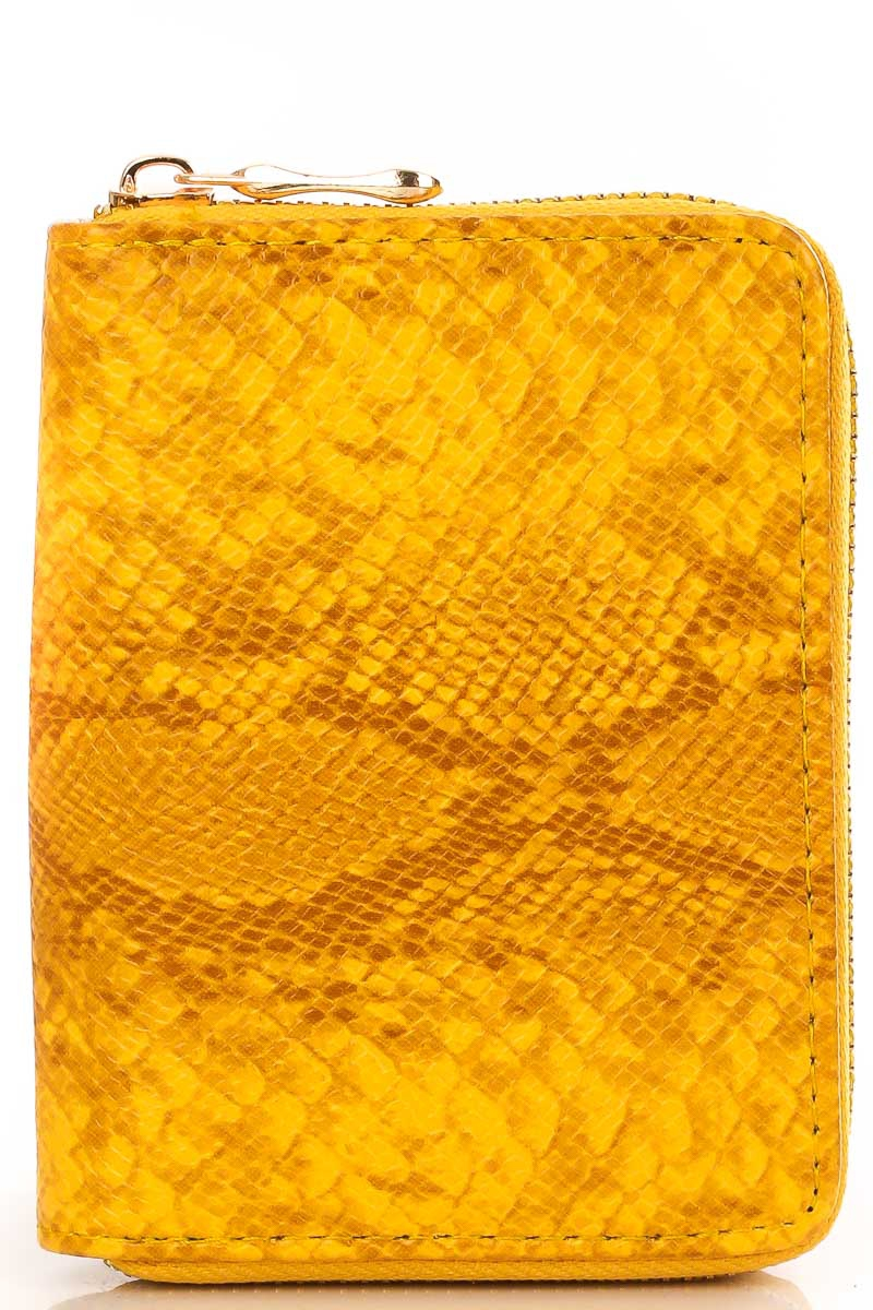 Half Size Zip Up Wallet - orangeshine.com