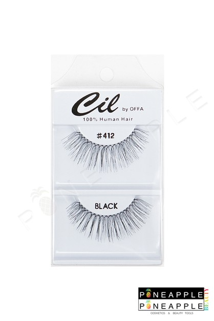 Cil Eyelashes No 412 - orangeshine.com