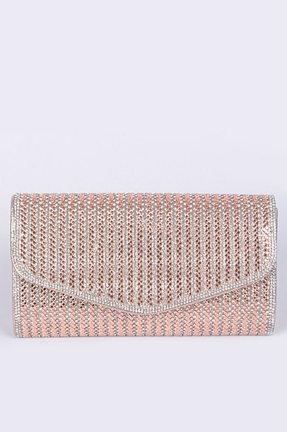 Rhinestone Convertible Party Clutch - orangeshine.com