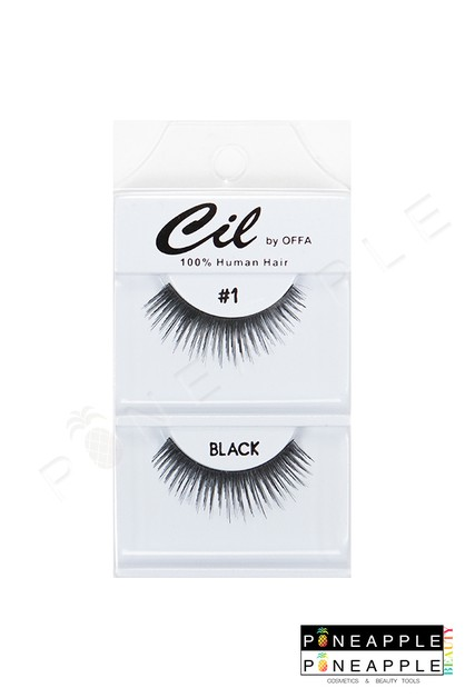 Cil Eyelashes No 01 - orangeshine.com