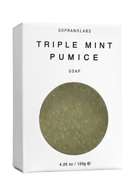TRIPLE MINT PUMICE Vegan Soap - orangeshine.com