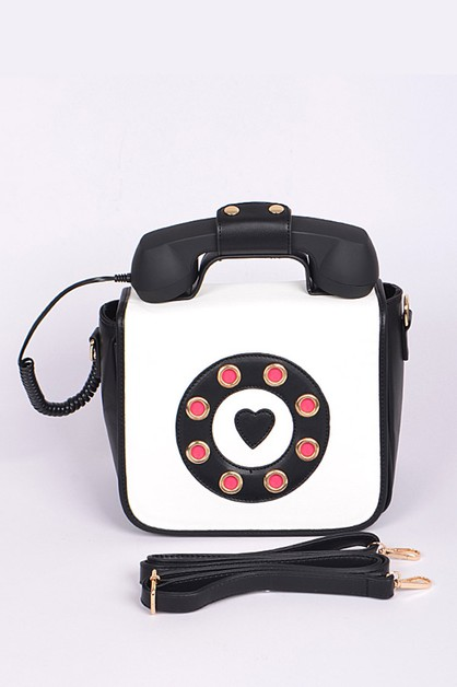 Iconic Telephone Iconic Crossbody Ba - orangeshine.com