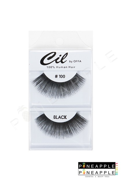 Cil Eyelashes No 100 - orangeshine.com