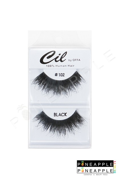 Cil Eyelashes No 102 - orangeshine.com