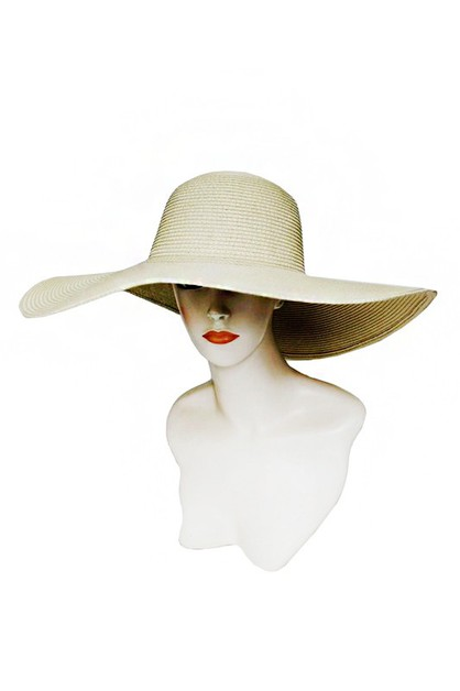 Basic Colors Women Beach Sun Hat - orangeshine.com