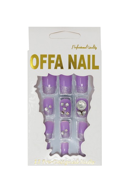 3D Nail Tips No 3036 - orangeshine.com