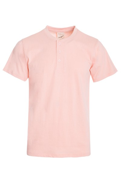 MENS SHORT SLEEVES HENLEY T SHIRTS  - orangeshine.com