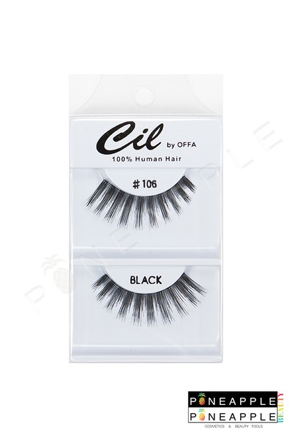Cil Eyelashes No 106 - orangeshine.com