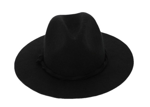 Wool Wide-Brimmed Hat - orangeshine.com