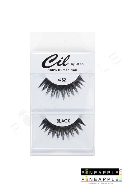 Cil Eyelashes No 62 - orangeshine.com