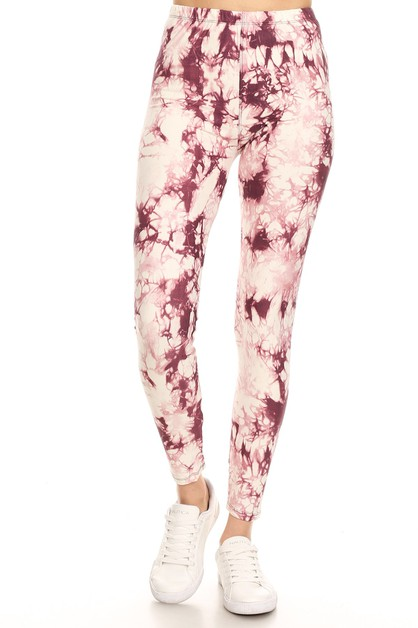TIE-DYED REGULAR JUNIOR LEGGINGS - orangeshine.com