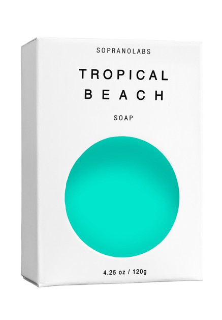 TROPICAL BEACH  Vegan Soap - orangeshine.com