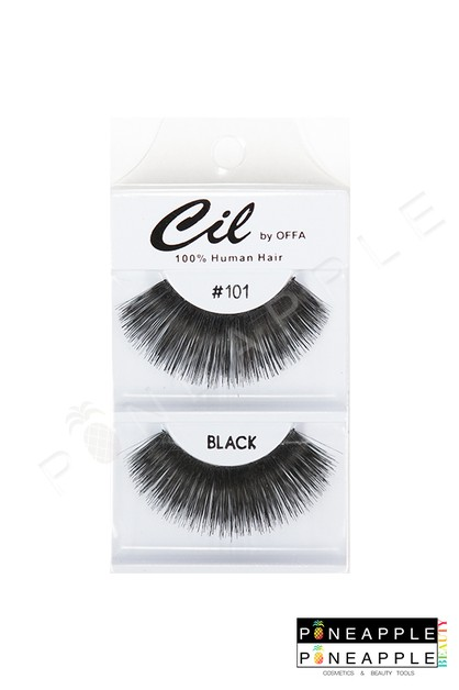 Cil Eyelashes No 101 - orangeshine.com