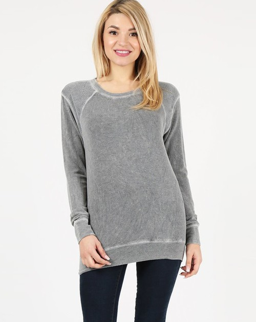 Relaxed Fit Pullover - orangeshine.com