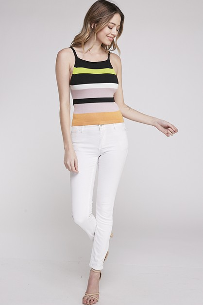 MULTI COLOR CAMISOLE TOP - orangeshine.com