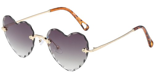 Heart Sunglasses - orangeshine.com