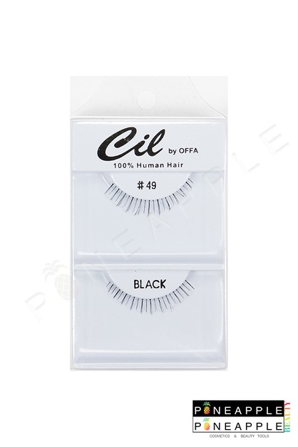 Cil Eyelashes No 49 - orangeshine.com