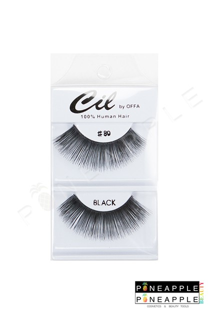 Cil Eyelashes No 80 - orangeshine.com