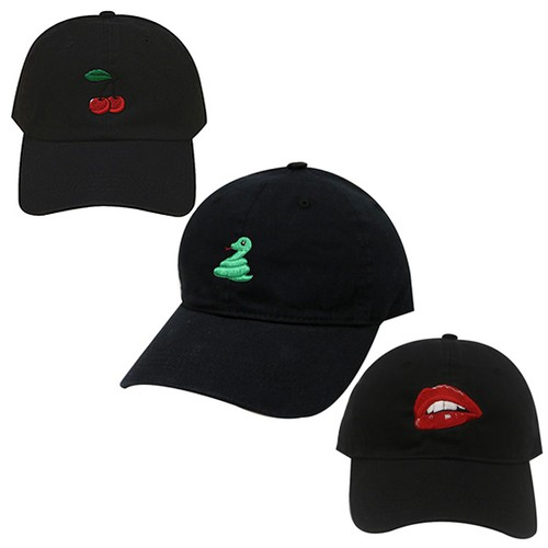 Lea Embroidered Baseball Caps - orangeshine.com