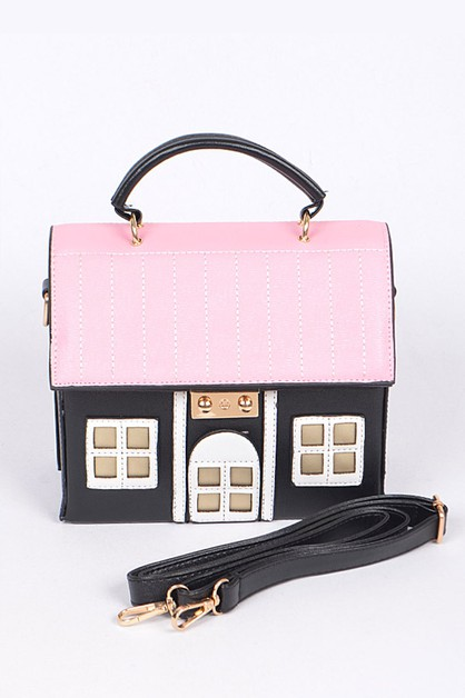 Dream House Convertible Clutch Bag - orangeshine.com