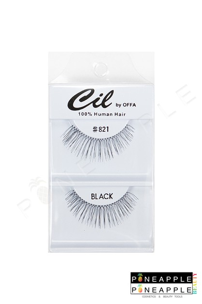 Cil Eyelashes No 821 - orangeshine.com