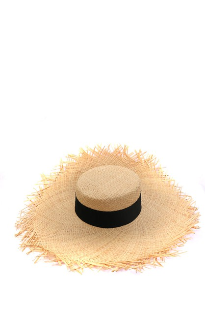Big natural Floppy Hat  - orangeshine.com