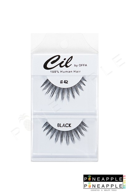 Cil Eyelashes No 42 - orangeshine.com