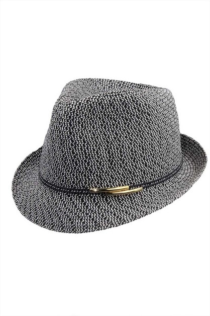 CHIC STYLISH FASHION FEDORA  - orangeshine.com
