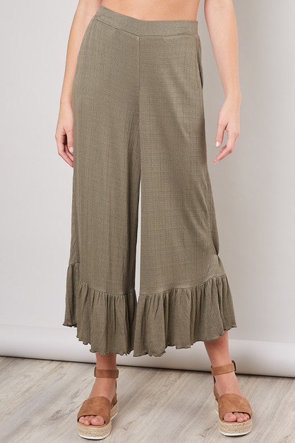 WIDE-LEG PANTS - orangeshine.com