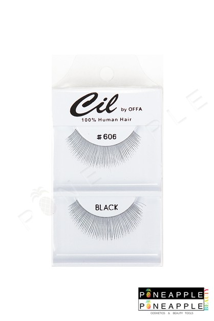 Cil Eyelashes No 606 - orangeshine.com